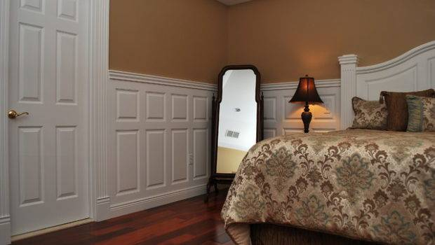 Paint Wainscoting Bedroom Interior Designing Ideas