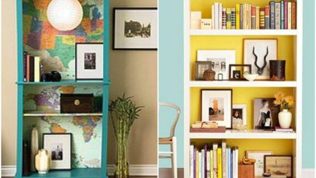 Painted Bookcase Ideas