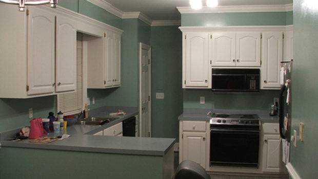 Painted Kitchen Cabinets Design Bookmark