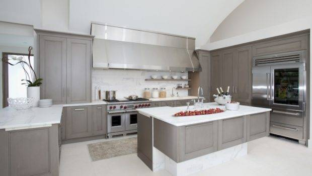 Painted Kitchen Cabinets Ideas Gray Color Culthomes