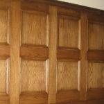 Painted Pine Paneling Wall Wood