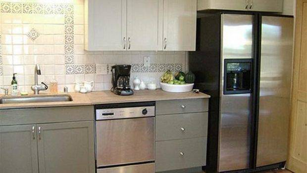 Painted White Kitchen Cabinets Before After Cheapfurniture Xyz