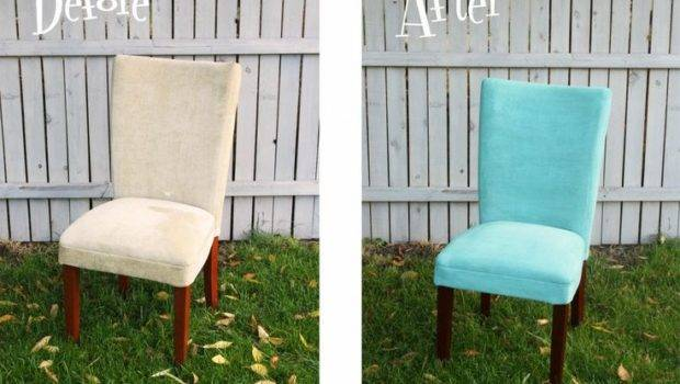 Painting Fabric Want Try Dining Room Chairs Much