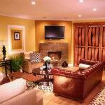 Painting Ideas Gold Wall Color Your Living Room