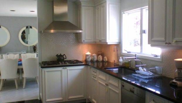 Painting Kitchen Cabinets White Black