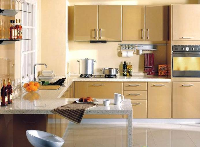 best paint for non wood kitchen cabinets - kitchen