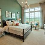 Painting One Wall Standout Color Gives Fun Twist Bedroom