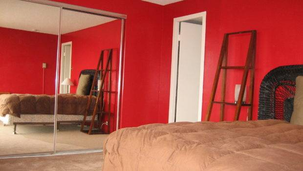 Painting Walls Red Pick Get Rid