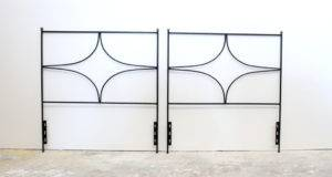 Pair Headboards Style Royere Stdibs