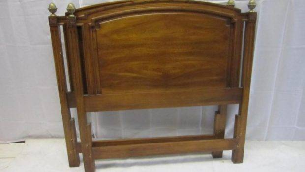 Pair Regency Style Headboards Lot