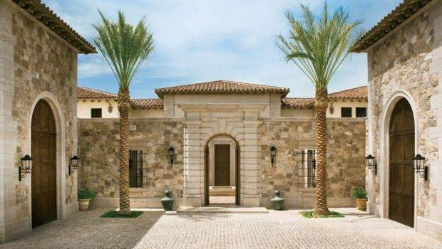 Palatial Italian Style Home Las Vegas Architectural Digest