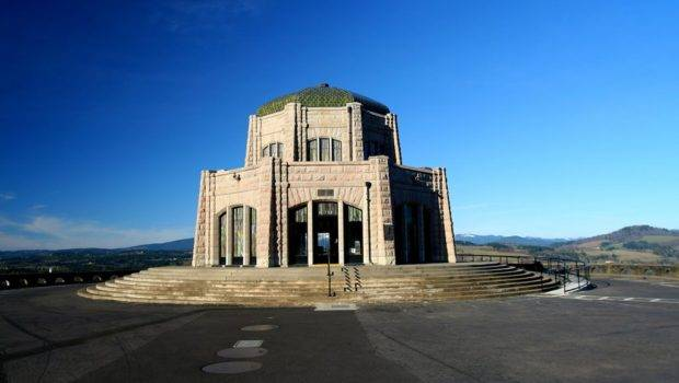 Panoramio Vista House Crown Point Columbia River