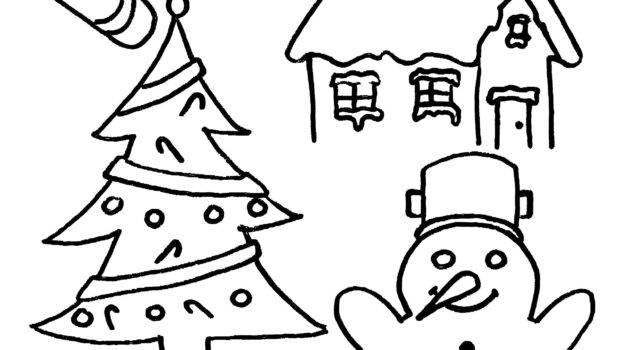 Party Simplicity Christmas Coloring Kids