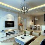 Pastoral Style Living Dining Room Lighting Design House