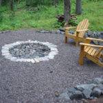 Patio Ideas Fire Pit Budget Erins Creative Creations