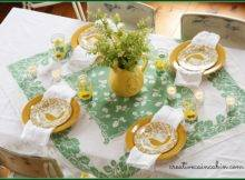 Patrick Day Table Setting Creative Cain Cabin