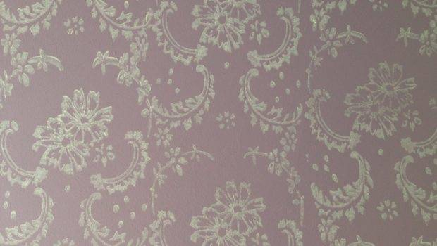 Patterned Paint Roller Symphony Scrolls Design Not