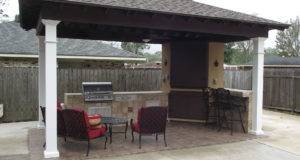 Pavilions New Orleans Garden Custom Outdoor