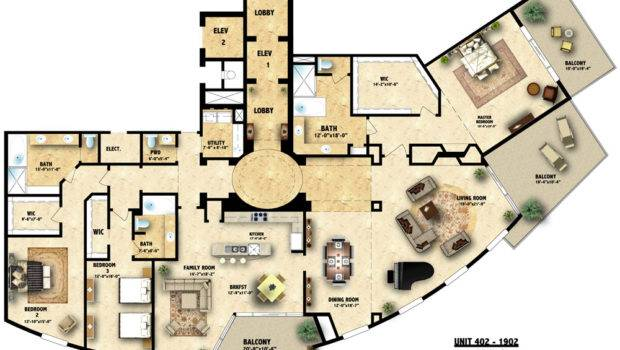 Perfect Floor Plans Architecture Plan Colored