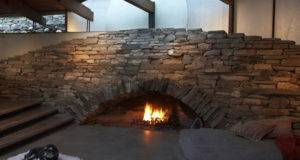Perfect Modern Stone Fireplace Design Ideas