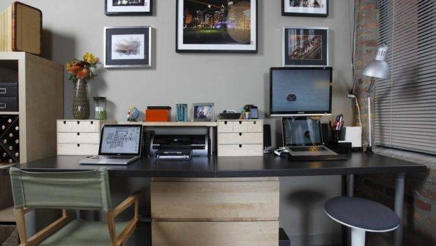 Person Desk Solutions Designing Decorating Your Home Office