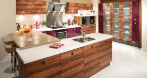 Philippines Kitchen Design Come Laminated Wooden Island