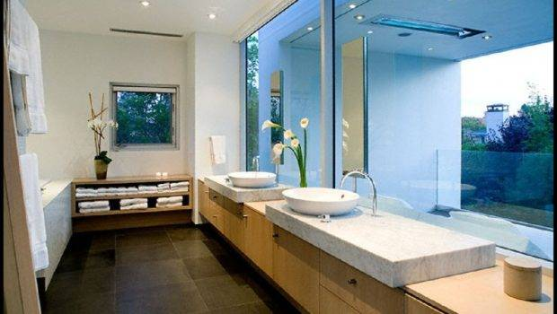 Photos Bathroom Simple Rectangular Shape House Design Ideas