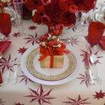 Photos White Christmas Table Decorations Ideas