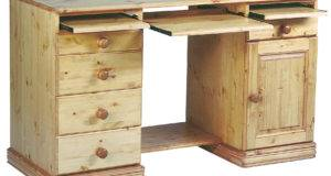 Pine Desk Art Storage Equipment Plans Floating