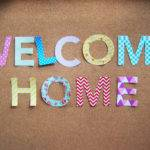Pink Doormat Welcome Home Buntings