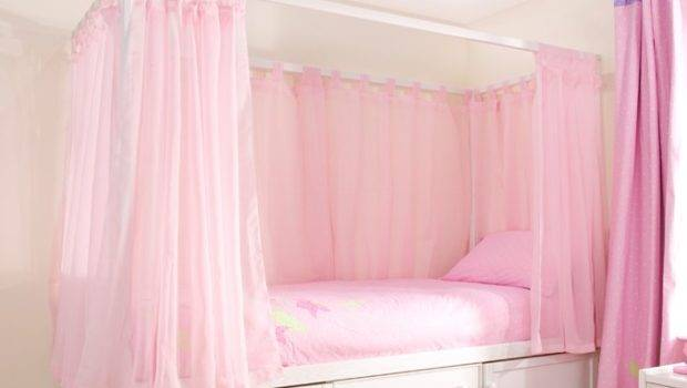 Pink Voile Curtains Cbc