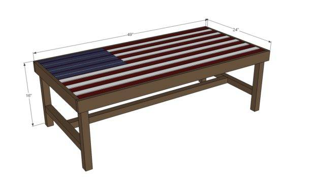Plans Standard Coffee Table Height But