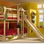 Play Bunk Beds Large Families Woodland Kidsomania