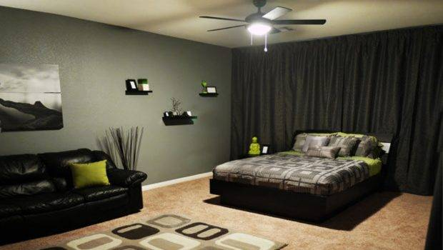 Plus Green Pillow Enlightened Fan Light Cool Bedroom Ideas