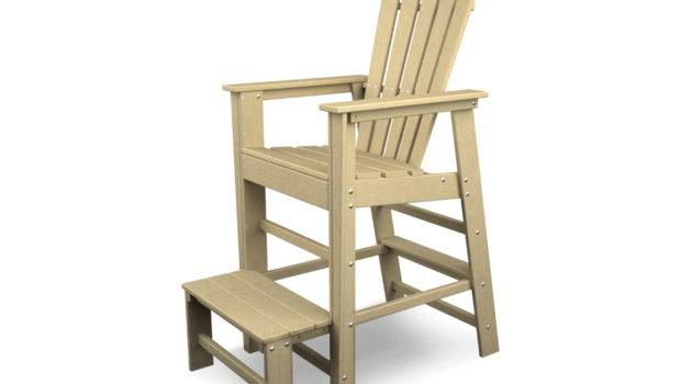 Polywood South Beach Recycled Plastic Lifeguard Chair Sbl