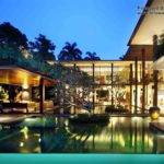 Pool Wooden Patio Also Cool Frangipani Tree Amazing Modern Homes