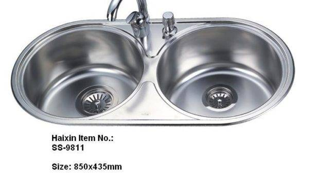 Popular Small Double Kitchen Sink Buy Cheap