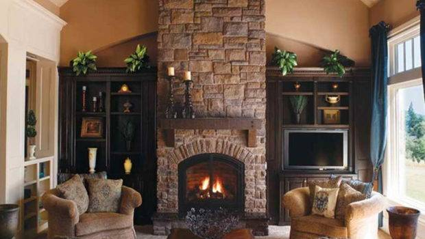 Portable Fireplaces Fireplace Stone Veneer Different Style