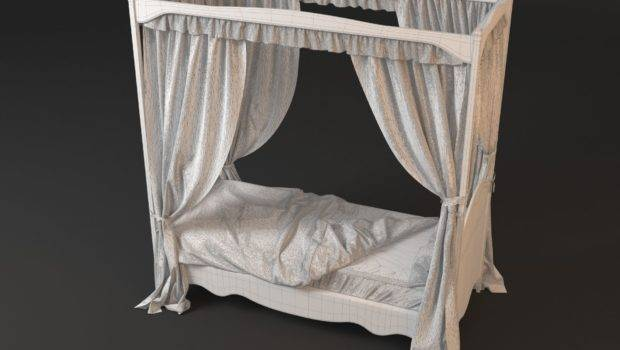 Poster Bed Curtains Model High Quality Kids Roses