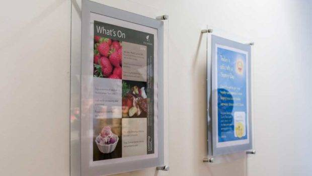 Poster Holder Displays Wall Mounted Holders