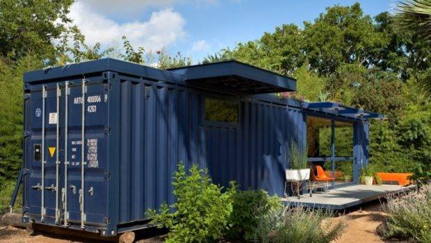 Poteet Architects Container Guest House