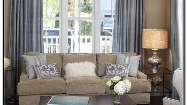 Pottery Barn Living Room Curtains Home