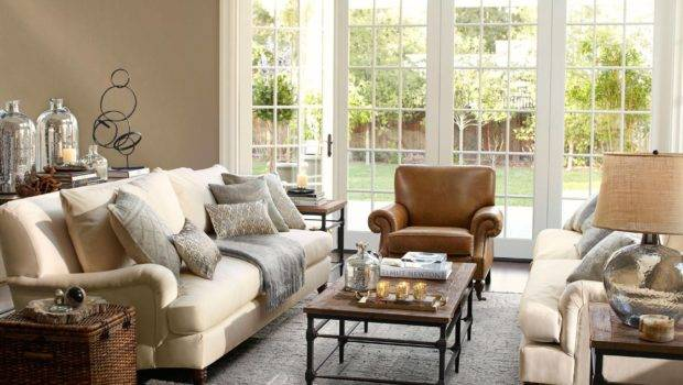 Pottery Barn Living Room Home Pinterest