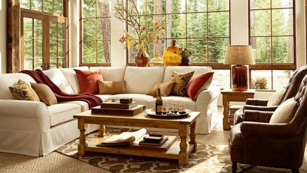 Pottery Barn Style Living Room Traditional Floor Lamp