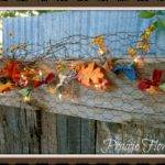 Prairie Flower Farm Winner Autumn Lights Garland Tutorial