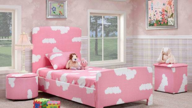 Pretty Pink Kids Bedroom Designs