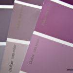 Pretty Shades Grey Purple Paint Bedroom Makeover
