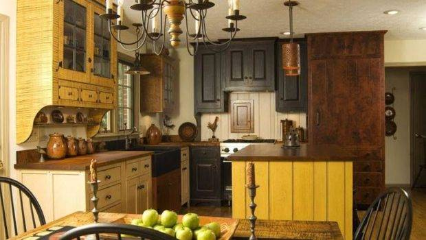 Primitive Kitchen Design Pinterest