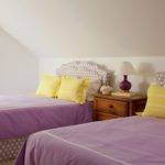 Purple Yellow Girls Bedroom Cottage Girl Room Amanda