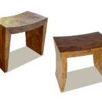 Puzzle Stools Recycled Teak Scrap Wood